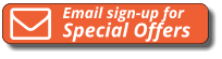 Email sign-up for Special Offers